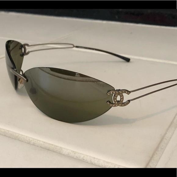 a413edff3c08 CHANEL Accessories | Vintage Rimless Sunglasses Model 4049 | Poshmark